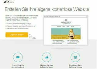 Homepage Baukastensystem